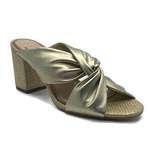 1901 Daysha Sandal in Metallic Gold, 9M US